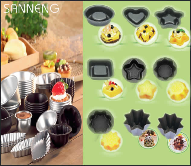 San Neng Small Cake Moulds