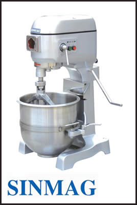 Sinmag Belt Drive Planetary Mixer Series