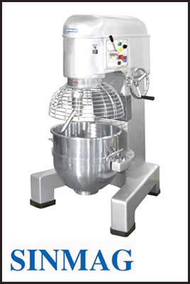 Sinmag Clutch System Planetary Mixer Series