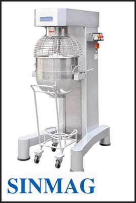Sinmag Planetary Mixer-Multi Speed System